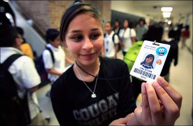 Lawsuit targets 'locator' chips in student IDs