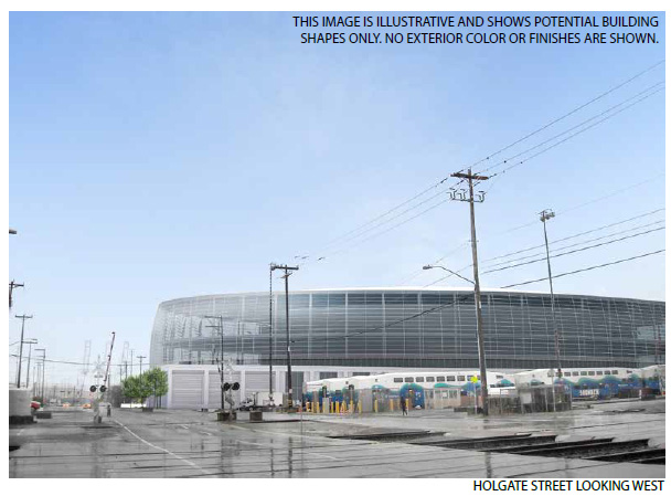 Proposed Seattle Arena, Design 1