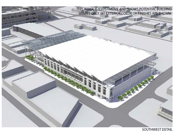Proposed Seattle Arena, Design 2
