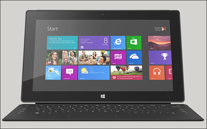 Microsoft to sell Surface Windows 8 Pro on Feb. 9