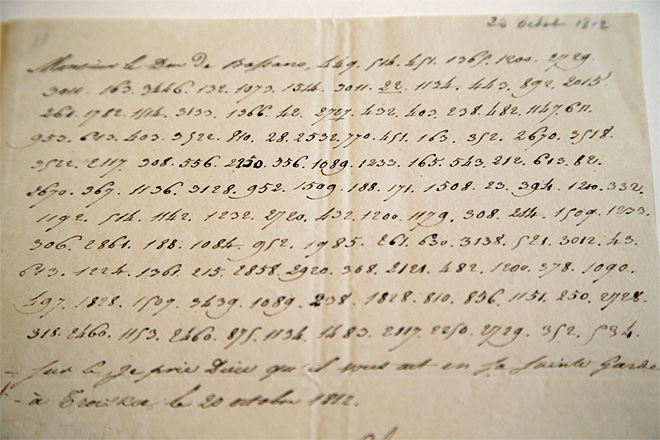 France Napoleon Kremlin Letter
