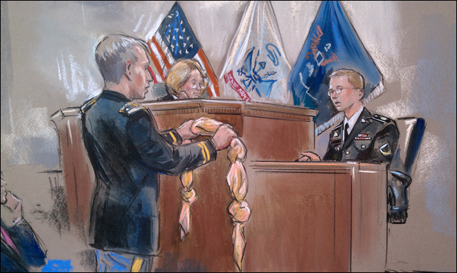 Counselor: Manning's history showed self-harm risk