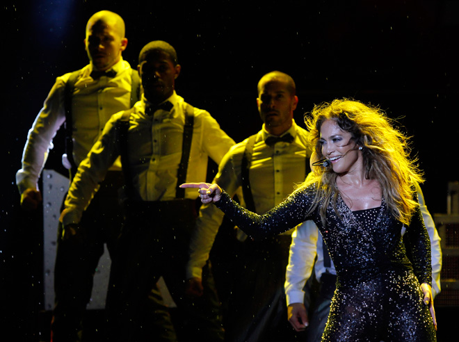 JLo tones down concert in Indonesia