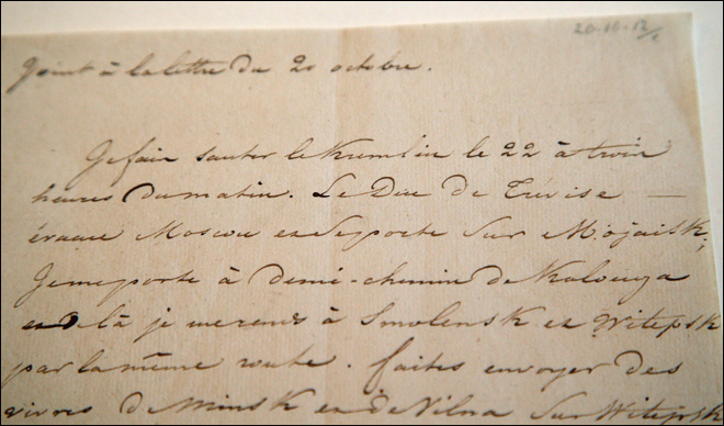 Napoleon's coded Kremlin letter sold for $243,500