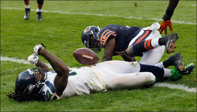 Rice TD gives Seahawks 23-17 OT win over Bears