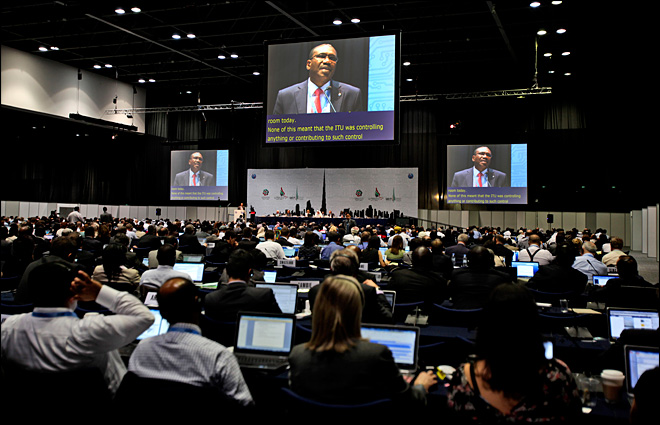 Clashes over Internet rules to mark international conference