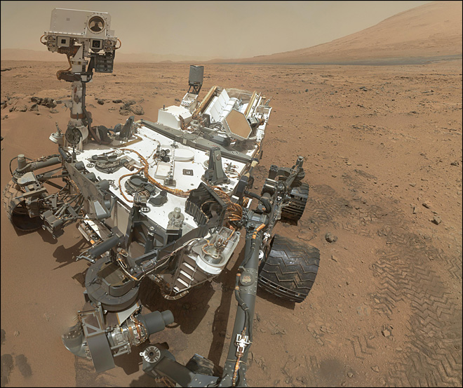 Long trip from Medford to Mars for rover driver