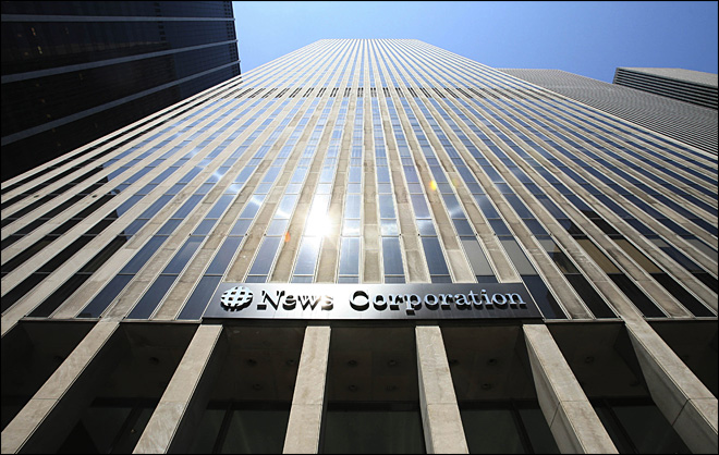 News Corp.'s new media company to be named Fox Group