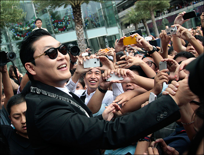 Cashing in on Gangnam Style's YouTube fame