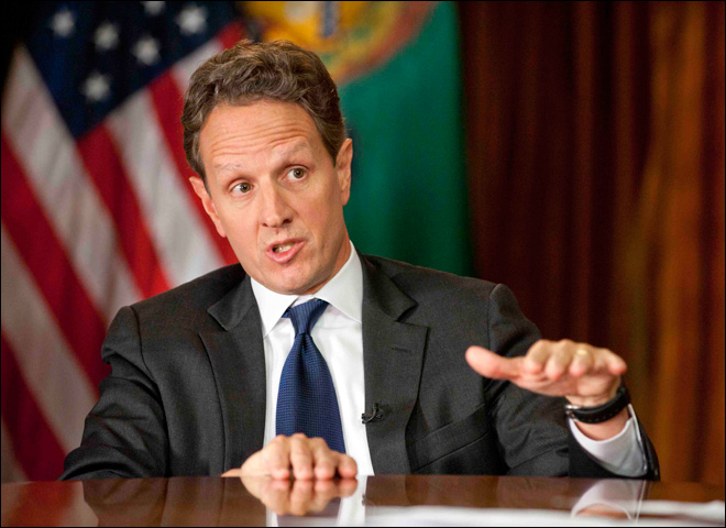 Geithner: Ready to go over 'cliff' if necessary