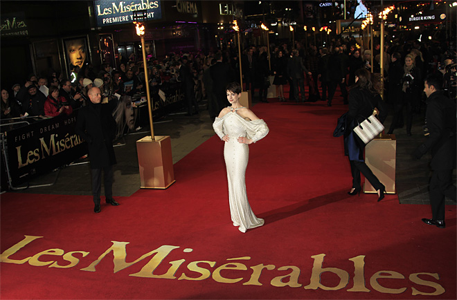 Les Miserables World Premiere London