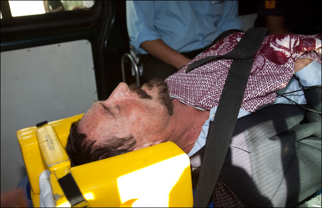 McAfee hospitalized after being denied asylum