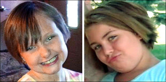 Families of missing Iowa girls await IDs of bodies