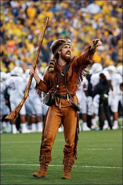 WVU mascot told to stop hunting with school musket