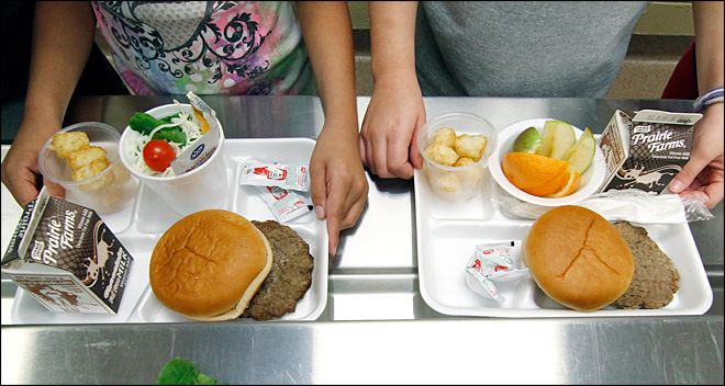 Government to allow more meat, grains in school lunches