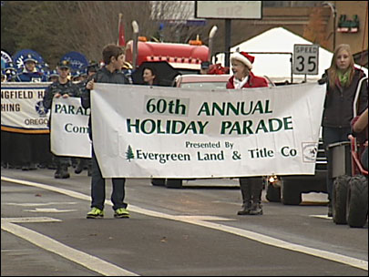 60th Holiday Parade: 'that about sums it up ... Christmas spirit'