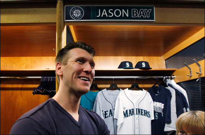 Jason Bay hoping for a fresh start in Seattle