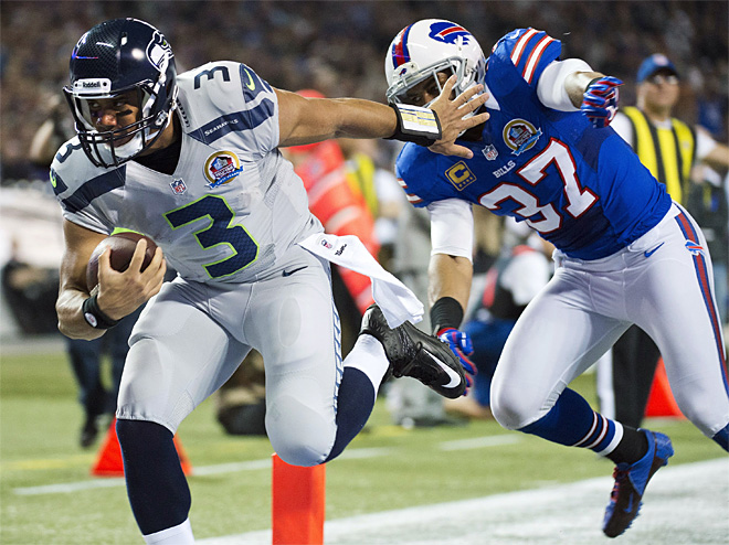 APTOPIX Seahawks Bills Football