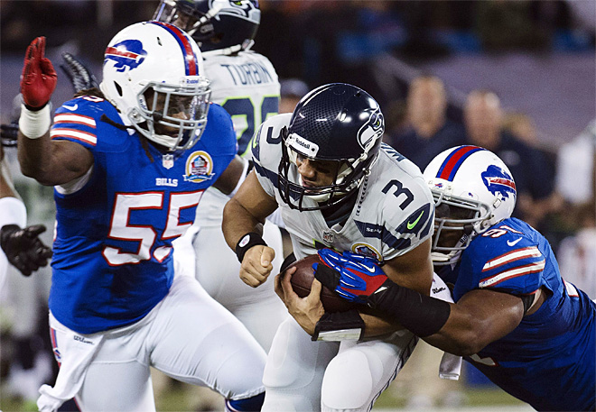 Seahawks Bills Football