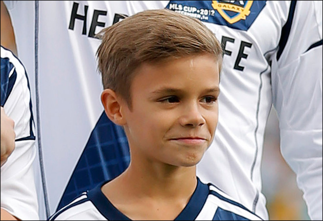 Beckham's 10-year-old son now face of a fashion brand