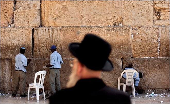 $500 million in checks left at Jerusalem holy site
