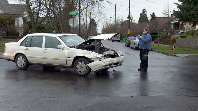 Northeast Portland Crash