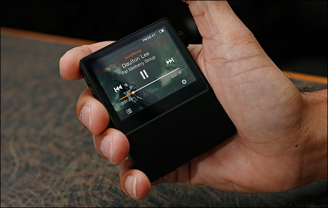 Review: High-res music player ups the audio ante