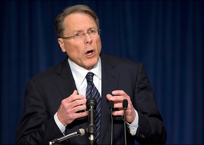 NRA leader vows to 'stand and fight' Obama on guns