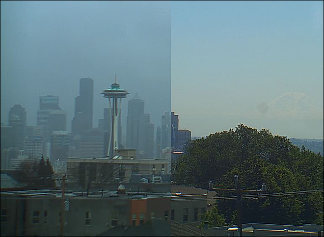 Seattle: 75 days of sun, followed by 75 days of rain