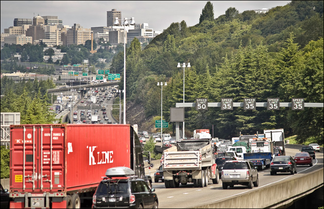 Weekend closures of I-5 in Seattle planned in coming months