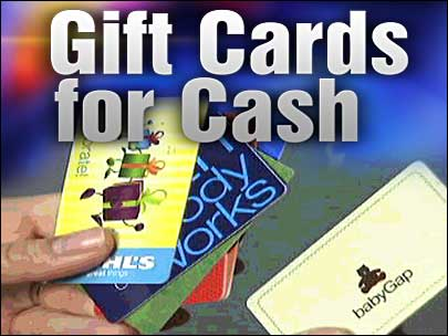 Company buys unused gift cards
