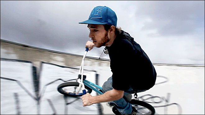 Freestyle BMX: From childhood fun to unwinding when work is done