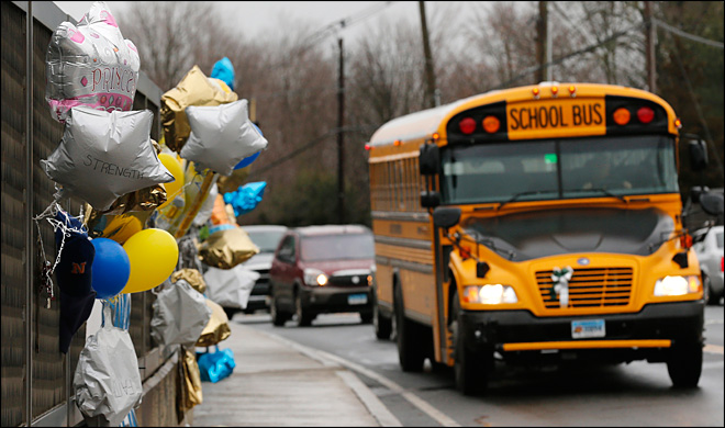 Sandy Hook students heading back to school after massacre