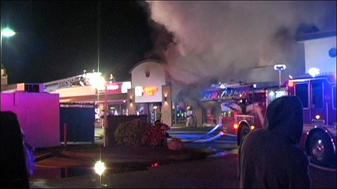 Federal investigators looking into Salem strip mall fire
