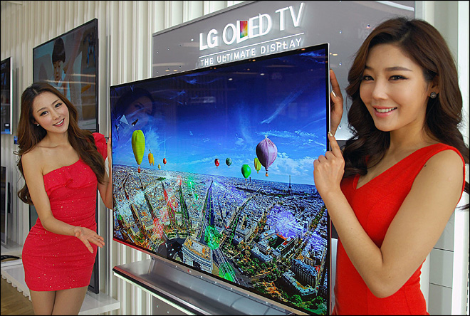 LG beats rivals in race to sell new OLED TVs