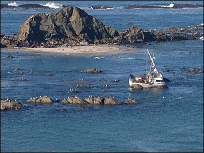 3 rescued from crab boat off Oregon Coast