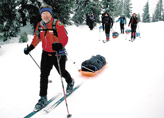 'Being able to ski the back-country at Crater is a great experience'