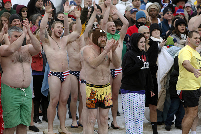 Polar Bear Plunge