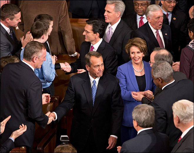 House re-elects Boehner speaker
