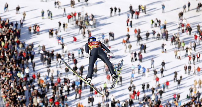APTOPIX Germany Ski Jumping Four Hills