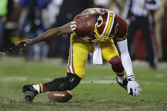 Doctor optimistic after Redskins' RG3 knee surgery