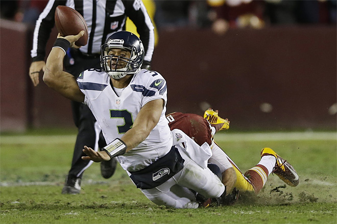 APTOPIX Seahawks Redskins Football