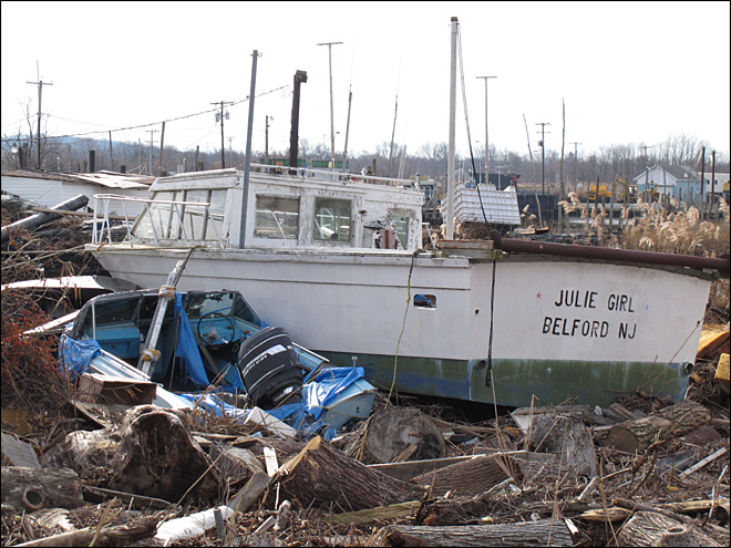 Fishermen hoping for help with Sandy storm losses