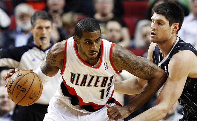 Lamarcus Aldridge named to NBA All-Star team