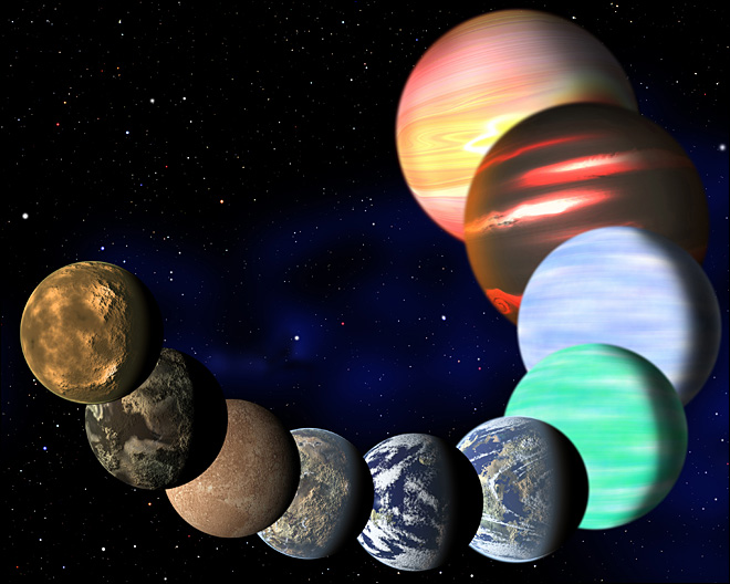 Study: Billions of Earth-size planets in Milky Way