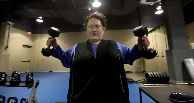 Overweight-only gym fosters supportive atmosphere