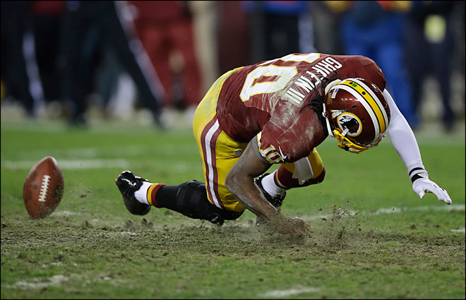 ACL in question as Redskins' RG3 has more tests
