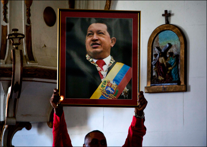Ailing Chavez unable to attend swearing-in