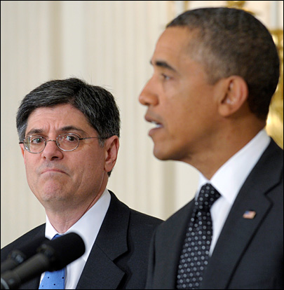 Jack Lew expected to be next Treasury Secretary