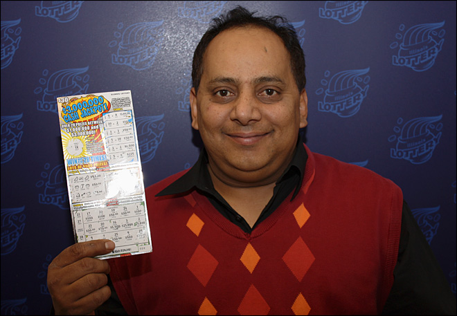 Police question wife of poisoned lottery winner